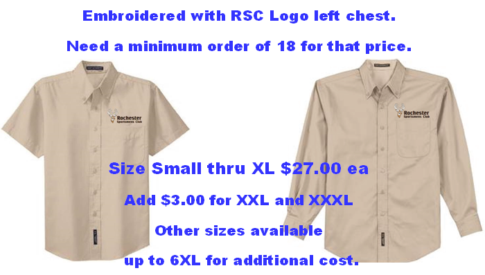 Rochester Sportsmen's Club Shirts