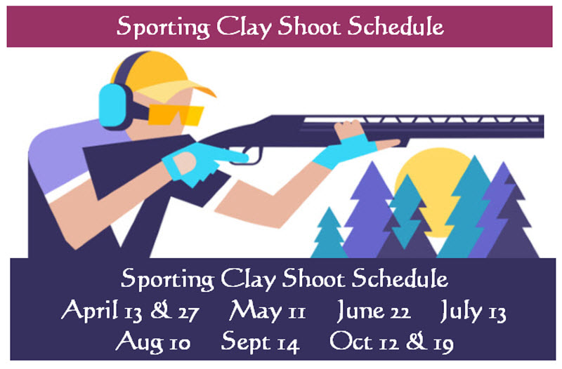 2019 Sporting Clay Shoot Schedule